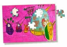 custom puzzles with personal artwork or photos